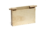 Holz-Futtertasche Mini Plus einfache Wabenbreite